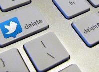 Twitter account verwijderen