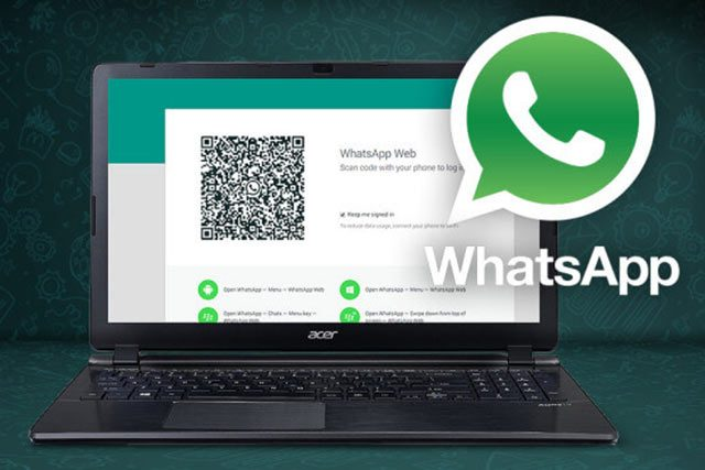 WhatsApp op pc