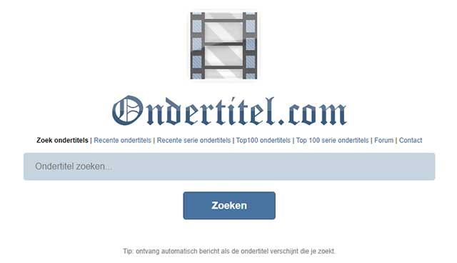 beste ondertitel download sites nederland