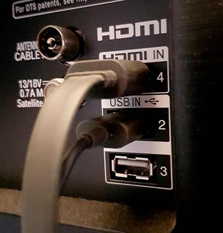 Chromecast werkt niet met HDMI in
